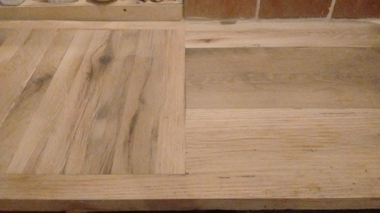 Unfinished butcher block/countertop